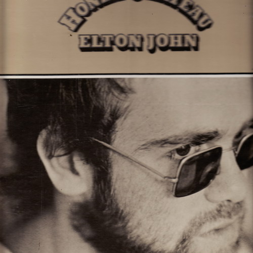 LP Elton John, Honky Chateau, 1972