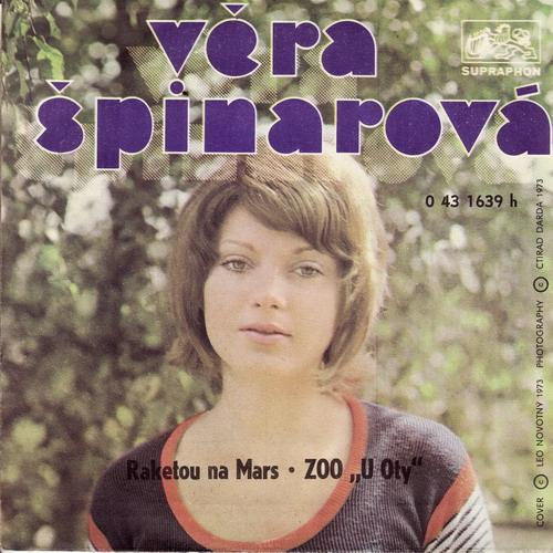 SP Věra Špinarová, 1973, Raketou na Mars