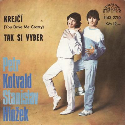 SP Petr Kotvald a Stanislav Hložek - 1983 Krejčí