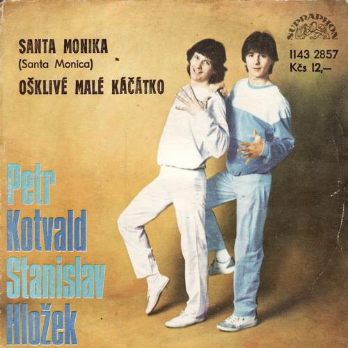 SP Petr Kotvald a Stanislav Hložek, 1984 Santa Monika
