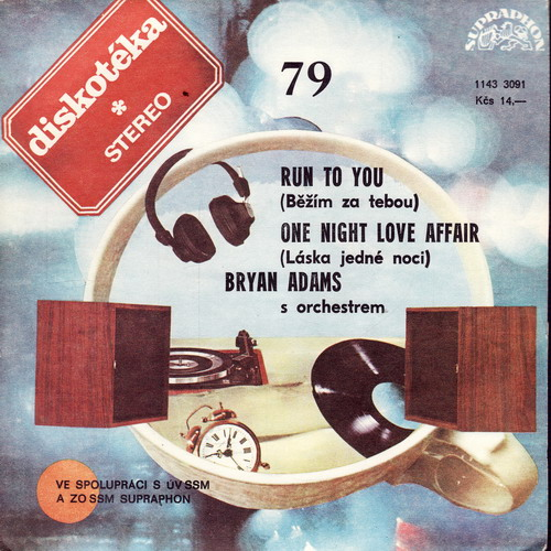 SP Diskotéka 079 Bryan Adams, Run To You