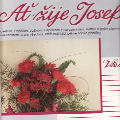 LP Ať žije Josef, deska s věnováním, 1992