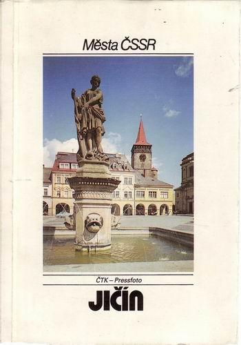 Jičín, město ČSSR, 1988