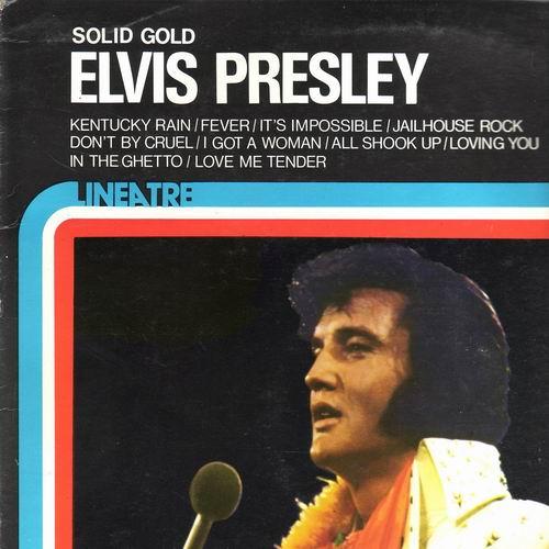 LP Elvis Presley, Solid Gold, 1975