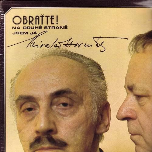 LP Obraťte! Na druhé straně jsem Já, Miloš Kopecký, Miroslav Horníček, 1978