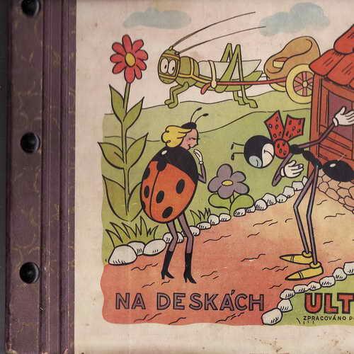 LP 5album, Ferda Mravenec, Ondřej Sekora, nahr., Supraphon, 78 ot.