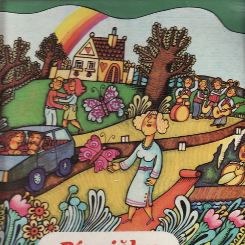 LP Písničky z obrazovky s Václavem Zahradníkem a Orchestrem Čs. televize, 1984