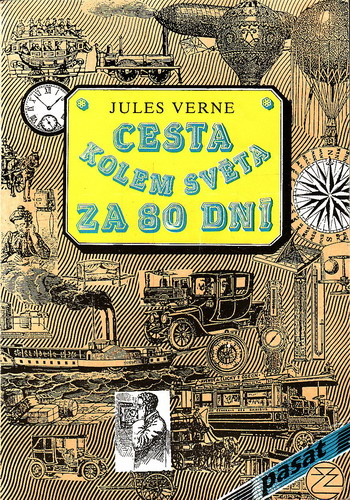 Cesta kolem světa za 80 dní / Jules Verne, 1991