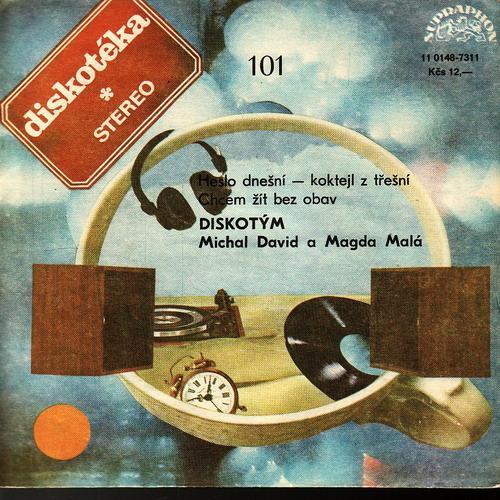 SP Diskotéka 101 Michal David, Magda Malá, 1988, Heslo dnešní