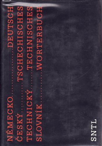 Německo český technický slovník, 1983