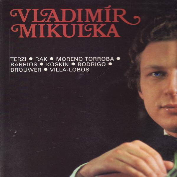 LP Vladimír Mikulka, kytarový recitál, 1980