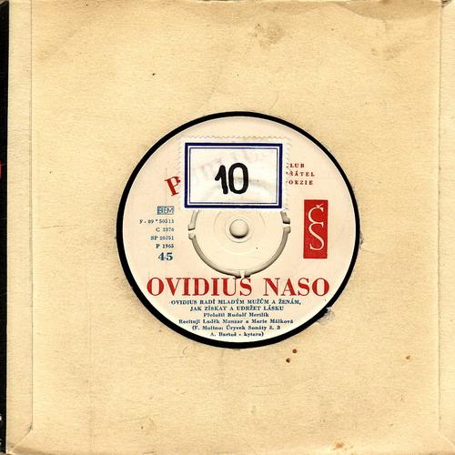 SP Ovidius Naso, Ovidius radí mužům a ženám, jak získat a udržet lásku, 1965