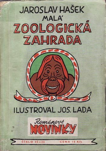 Malá zoologická zahrada / Jaroslav Hašek, 1950 il. Josef Lada