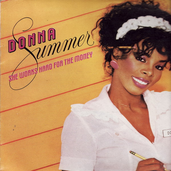 LP Donna Summer, She Works Hard For The Money, 1983