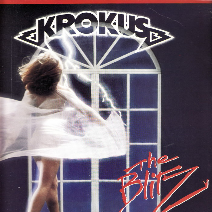 LP Krokus, The Blitz, 1984 Arista
