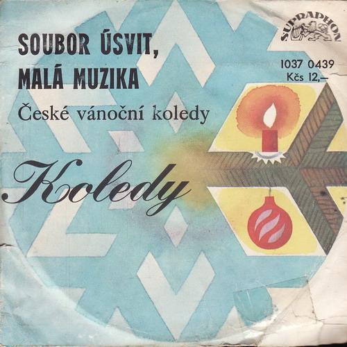 SP Soubor Úsvit, Malá muzika, České vánoční koledy, 1968