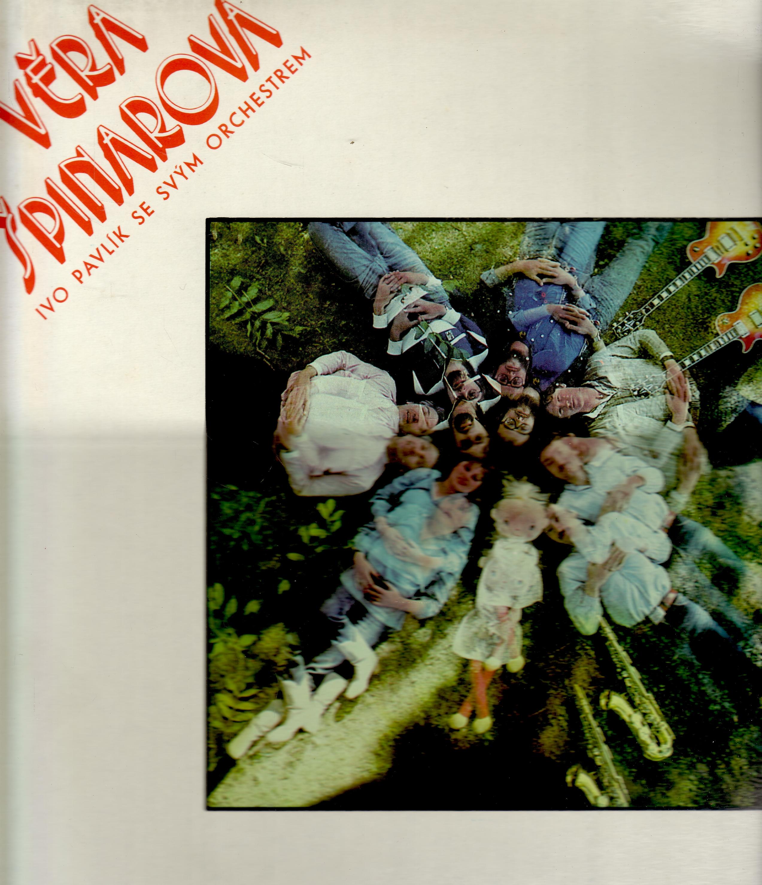 LP Věra Špinarová 3., Ivo Pavlík se svým orchestrem, 1978