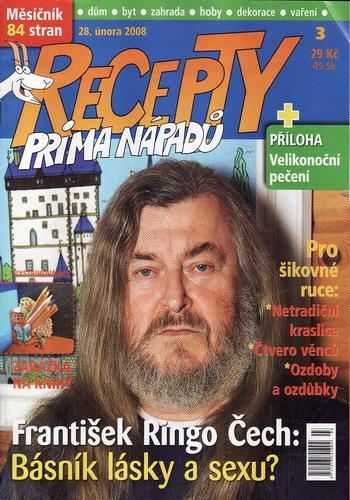 Časopis Recepty Prima nápadů 2008/02/28
