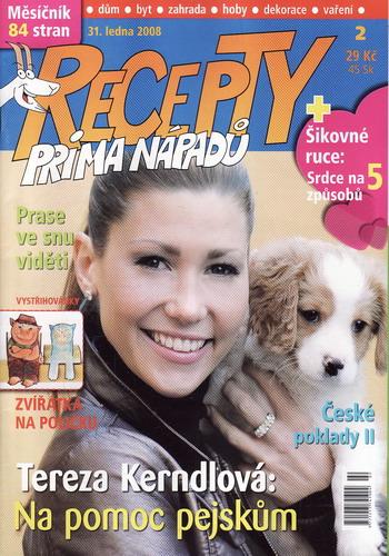 Časopis Recepty Prima nápadů 2008/01/31