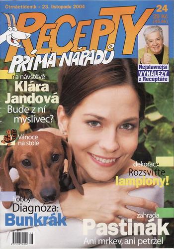 Časopis Recepty Prima nápadů 2004/11/23