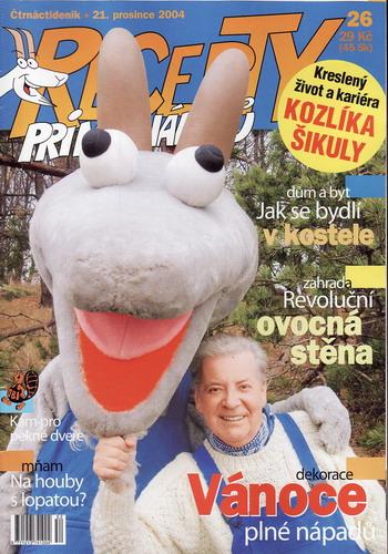 Časopis Recepty Prima nápadů 2004/12/21 Přemek Podlaha