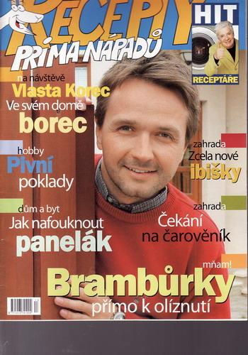 Časopis Recepty Prima nápadů 2006/06/20 Vlasta Korec