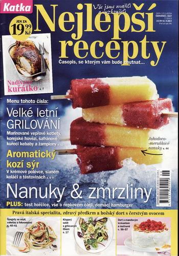 Katka 2013/07 Nejlepší recepty
