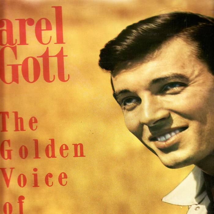 LP Karel Gott, The Golden Voice of Prague, 1970