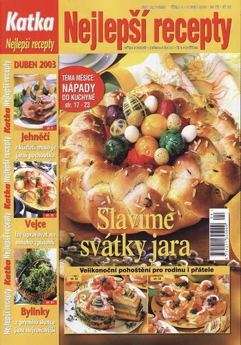 Katka 2003/04 Nejlepší recepty