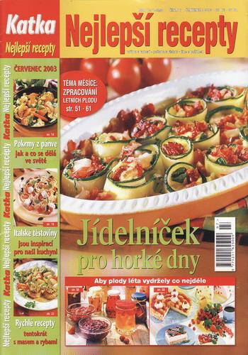 Katka 2003/07 Nejlepší recepty