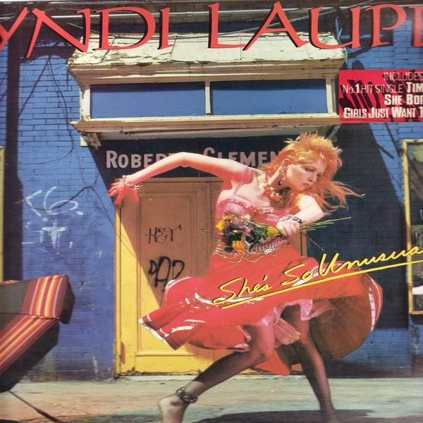 LP Cyndi Lauper, She's So Unusual, 1983