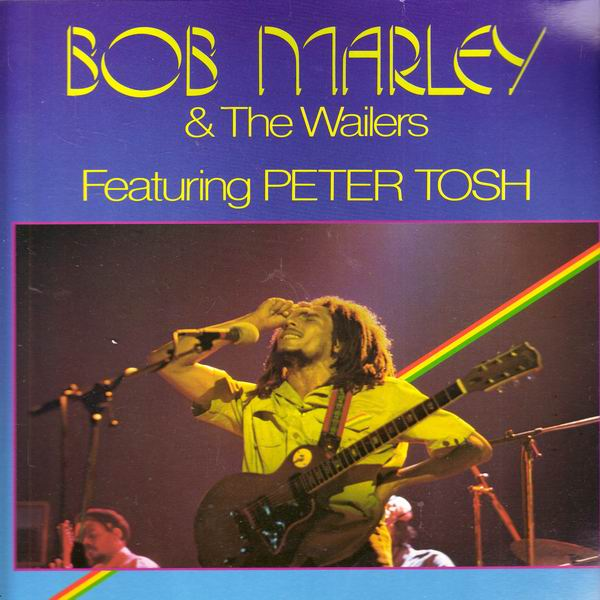 LP Bob Marley a The Wailers, Featuring Peter Tosh, Germany