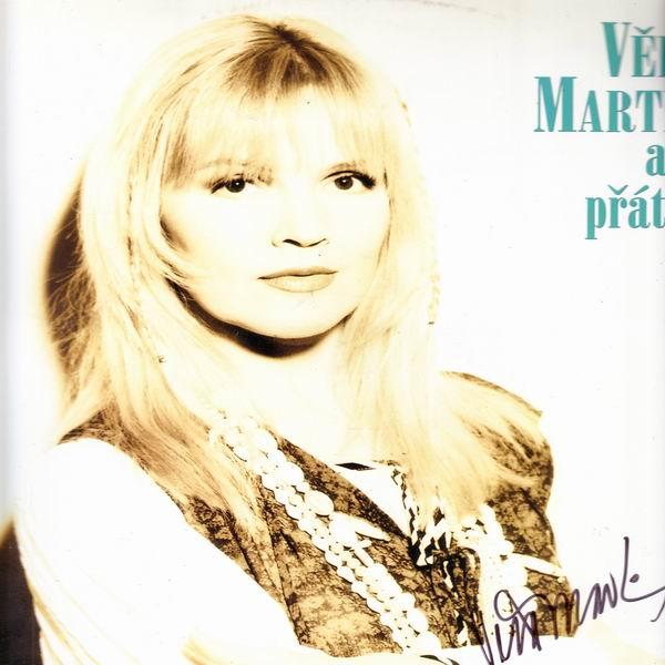 LP Věra Martinová a přátelé, 1994, Popron, autogram