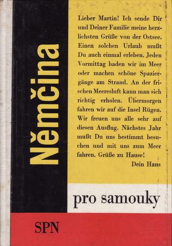 Němčina pro samouky / Štěpán Zapletal, 1968