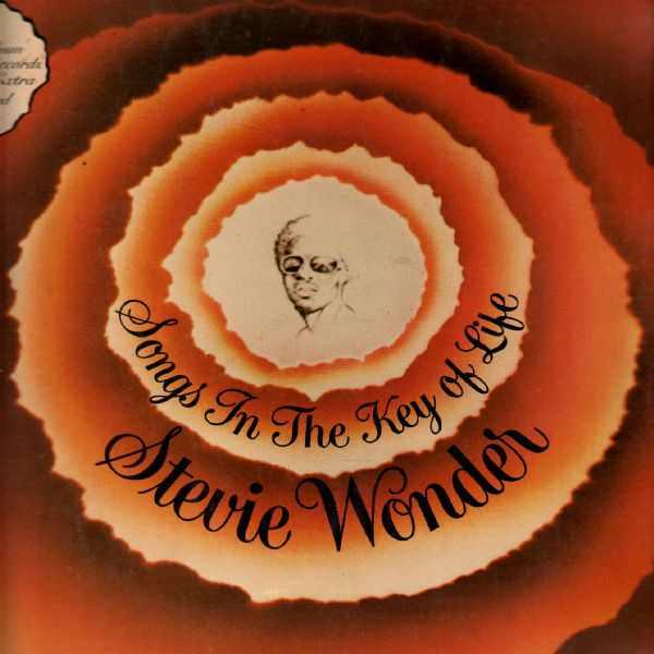 LP 2album, Stevie Wonder, Songs In The Key of Libe, 1976, India