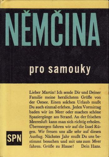 Němčina pro samouky vč. klíče / Štěpán Zapletal, 1965