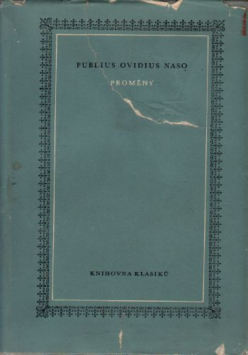 Proměny / Pablius Ovidius Naso, 1967