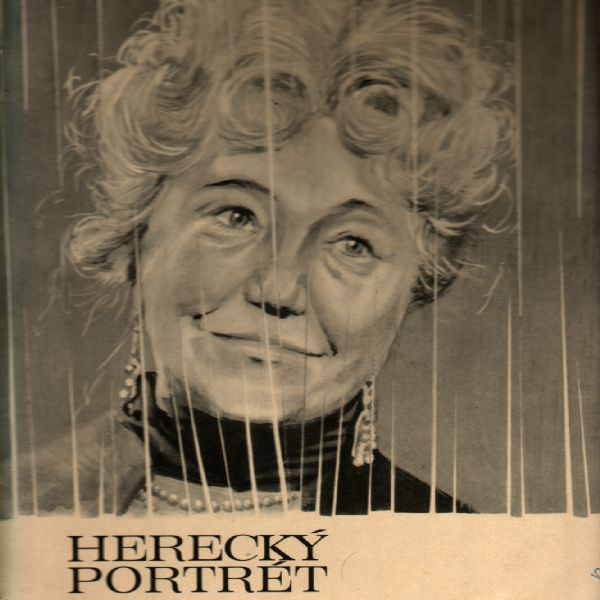 LP Opga Scheinpflugová, herecký portrét, 1971