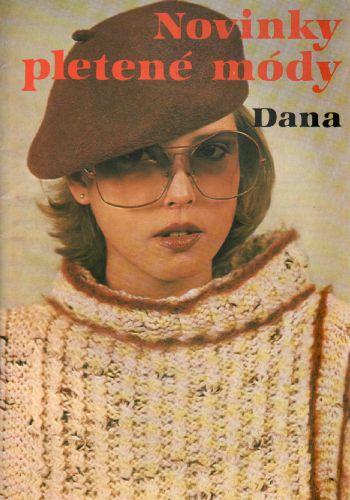 Novinky pletené módy Dana, 1983, časopis