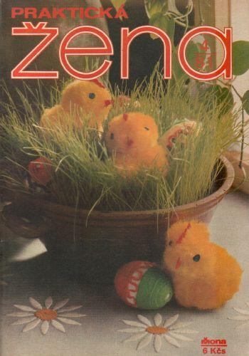 1981/04 Praktická žena, časopis