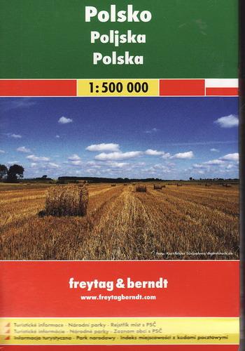 Automapa Polsko 1:500 000, 2015