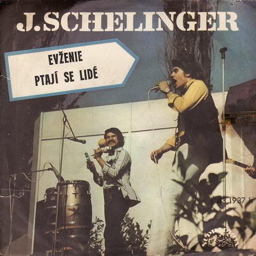 SP Jiří Schelinger, Evženie, Ptají se lidé. Supraphon, 1976