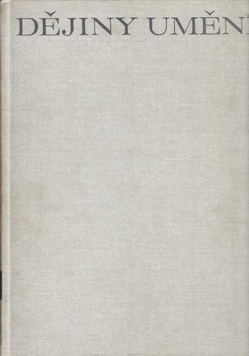 Dějiny Umění 1. / José Pijoan, 1998 bez obalky