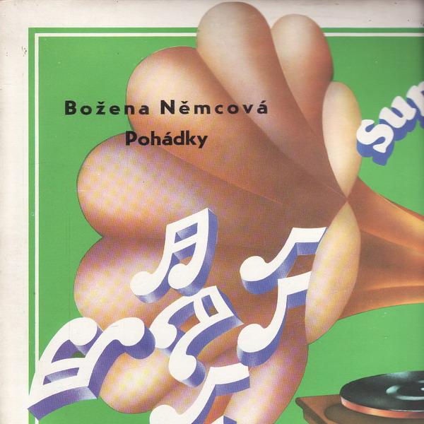 LP Pohádka o bílém hadu, Božena Němcová, 1974