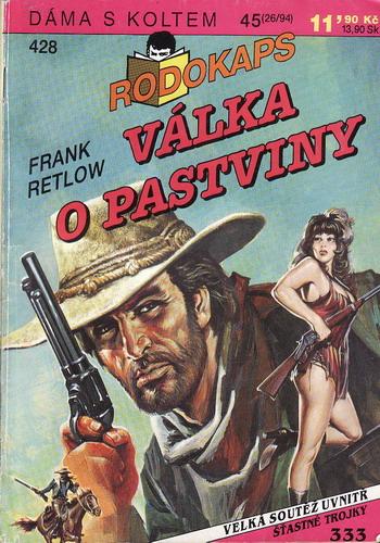 0428 Rodokaps, Válka o pastviny / Frank Retlow, 1994
