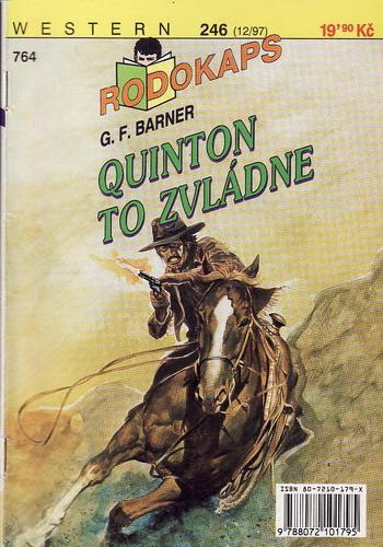 0764 Rodokaps, Quinton to zvládne, G.F.Barnerm 1997