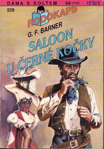 0529 Rodokaps, Saloon U Černé kočky, G.F.Barner, 1995