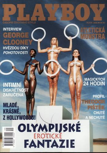 2000/10 časopis Playboy
