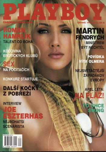 1998/07 časopis Playboy