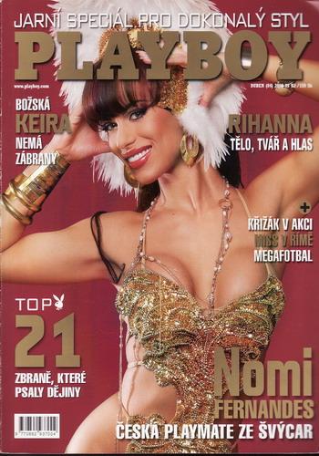 2008/04 časopis Playboy